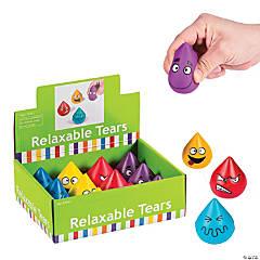 Foam Teardrop Character Stress Toys