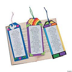 "Foam ""The Lord's Prayer"" Bookmark Craft Kit"