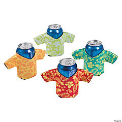 Foam Tropical Shirt Can Covers