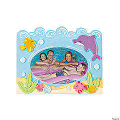 Foam Under the Sea Picture Frame Magnet Craft Kit