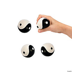 Foam Yin-Yang Stress Balls
