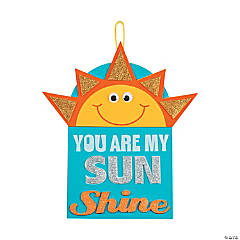 Foam You are My Sunshine Sign Craft Kit