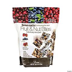 Focus Snacks Fruit & Nut Bites, 54 Piece Pouch