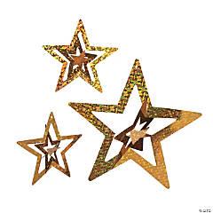 Foil Gold Stars