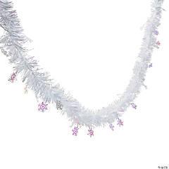 Foil Snowflake Garland