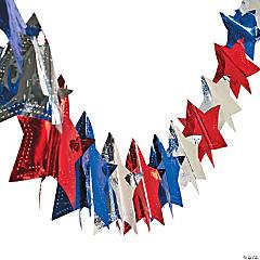 Foil Star Garland