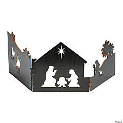 Fold-Up Nativity Scene