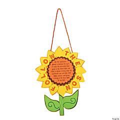 """Follow the Sun"" Sunflower Sign Craft Kit"