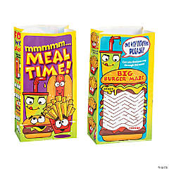 Food Characters Kids' Meal Bags
