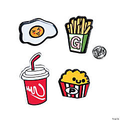 Food Fashion Pins