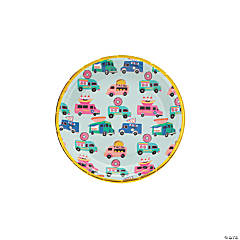 Food Truck Party Paper Dessert Plates - 8 Ct.