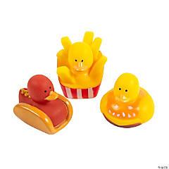 Foodie Rubber Duckies