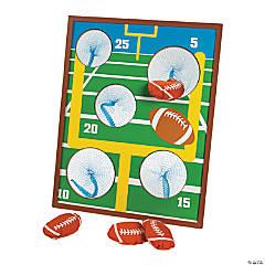 Football Bean Bag Toss Game