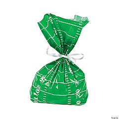Football Field Cellophane Bags
