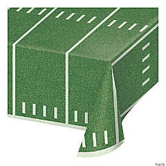 Football Field Plastic Tablecloths 3 Count
