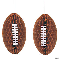 Football Hanging Honeycombs