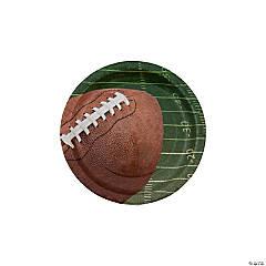 Football Paper Dessert Plates - 8 Ct.