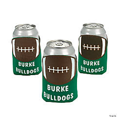 Football Personalized Can Covers