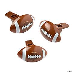 Football-Shaped Whistles