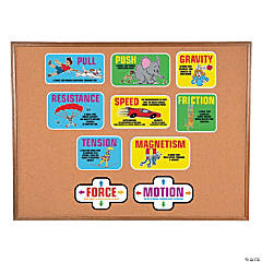 Forces of Motion Mini Bulletin Board Set