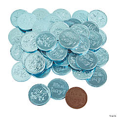 Fort Knox® It's A Boy Blue Chocolate Coins
