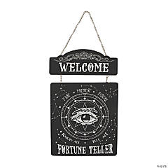 Fortune Teller Eye Sign Halloween Decoration