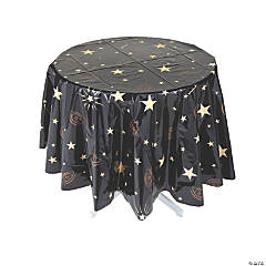 Fortune Teller Round Plastic Tablecloth