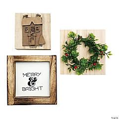 Foundations Decor Tiered Tray Themed Kits-December