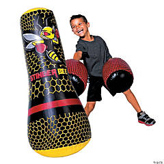 Franklin® Stinger Bee Inflatable Punching Bag & Gloves