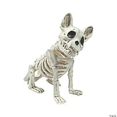 French Bulldog Skeleton Halloween Decoration