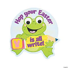 Frog Easter Cards with Eraser