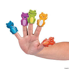 Frogs Puffy Finger Puppets