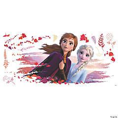 Frozen II Elsa and Anna Peel & Stick Giant Decals