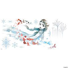 Frozen II Watercolor Elsa Peel & Stick Giant Decal