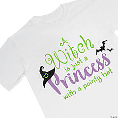 Fruit of the Loom® HD Cotton™ Youth Halloween Princess T-Shirt - Medium