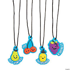 Fruit of the Spirit Charm Necklaces