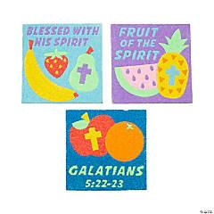 Fruit of the Spirit Sand Art Sheets
