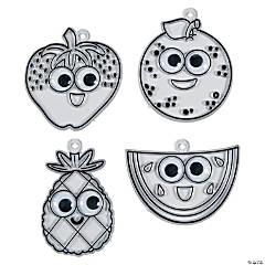 Fruit Suncatchers with Googly Eyes