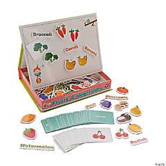 Fruits & Vegetables Magnetic Game