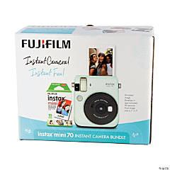 Fujifilm Instax® Mini 70 Instant Camera Bundle: Mint Green