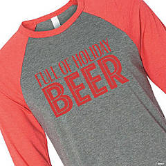 Full of Holiday Beer Adult's T-Shirt - Large