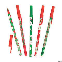 Fun Christmas Pen Assortment