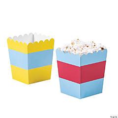 Fun Colors Popcorn Boxes