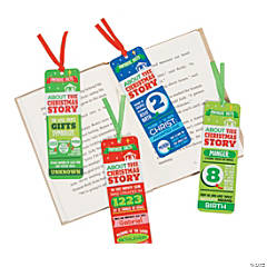 Fun Facts Nativity Bookmarks