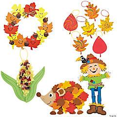 Fun Fall Craft Assortment