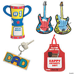 Fun Father's Day Craft Assortment