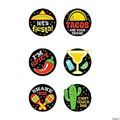 Fun Fiesta Temporary Tattoos