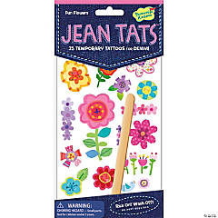 Fun Flowers Jean Tats Pack