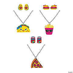 Fun Food Jewelry Set