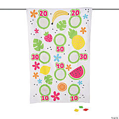 Fun Fruit Canvas Bean Bag Toss Game